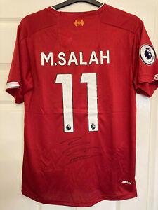 Original Signed Liverpool 2019-20 Shirt by Mohamed Salah
