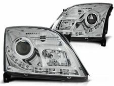 LED HEADLIGHTS LPOP75 OPEL VECTRA C SALOON / ESTATE 2002 2003 2004 2005 CHROME
