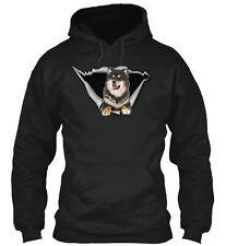 Torn - Finnish Lapphund Classic Pullover Hoodie - Poly/Cotton Blend By Bean