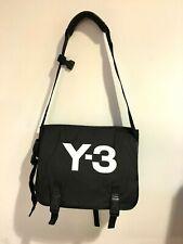 8aa68e0e38f Y-3 Yohji Yamamoto Black Padded Nylon Gym/Camera Bag w Waist Belt attached