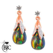 Orecchini di lusso con gemme farfalline multicolore diamante