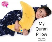My Quran Pillow With Light & Sound Desi Doll Muslim Children Toy Gift Ideas