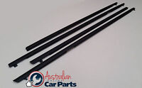 Black Door Window Belt Mould Set Holden Sedan Commodore VE VF Genuine 2006-2017