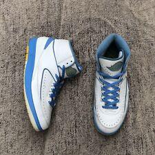 2018 Nike Air Jordan Retro 2 MELO sz 11.5 385475-122 Carmelo Anthony UNC DENVEr