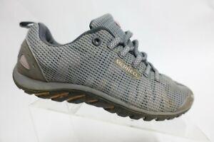 MERRELL Mesh Grey Sz 10 Women Hiking Low-Top Sneakers