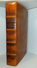 Ancient Greek Latin Binding Folio Occult Philostratus 1709 Greece