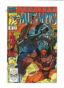 New Mutants #94 VF/NM 9.0 Marvel Comics 1990 Rob Liefeld, Cable & Wolverine app.
