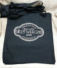 GIRLS WEEKEND CHEAPER THAN THERAPY PERSONALISED TOTE BAG