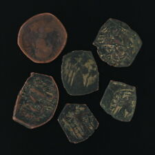 Ancient Coins Roman Artifacts Figural Mixed Lot of 6 B6528