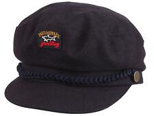 Paul & Shark Yachting hat cap captian's hat size M wool polyamid navy blue