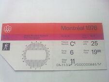 Billet Jeux Olympiques Montréal 25.07.1976 - boxe (19:00)