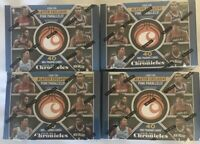 (4) 2019-20 Chronicles Basketball Blaster Box Lot In Hand Zion Ja Luka Lebron 🔥