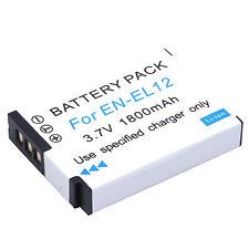 1Pcs EN-EL12 Camera battery For NIKON Coolpix P330 AW110 S9500 S9400 S8000 S610