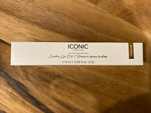"""Iconic London Lustre Lip Oil 6ml - Clear """"Out of Office"""" Shade. New & Boxed"""