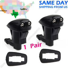 2 x Windshield Washer Nozzle Front 55079049AA for Jeep Grand Cherokee 2005-2010