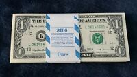 1999 ✯STAR NOTE✯ $1 One Dollar Bill Crisp Consecutive UNC from BEP San Francisco