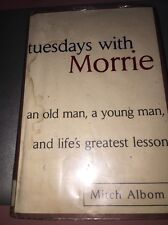 Tuesdays with Morrie Hardcover book by Mitch Albom album morry Library Book