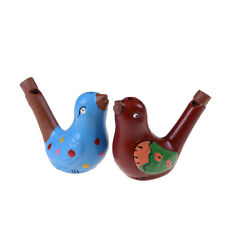 1PCS Ceramic hand-painted musical whistle water birds whistle new.