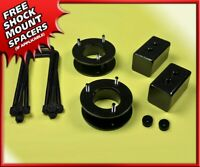 """FULL FX4 Leveling Lift Kit 2"""" Front + 1.5"""" Rear Fits 2004-2020 Ford F150 2WD 4WD"""