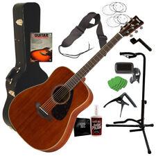 Yamaha FG850 Acoustic Guitar - Natural COMPLETE GUITAR BUNDLE