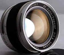Topcon Topcor RE 58mm F1.4 Exakta Mount