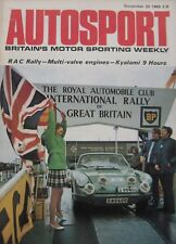 AUTOSPORT magazine 20 November 1969