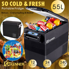 Kenner 55l Portable Freezer Fridge Camping Car Boat Caravan Cooler Refrigerator