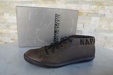 NAPAPIJRI Gr 45 11 Schnürschuhe Sven High Top Sneakers Shoes braun neu UVP 149€