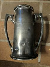 Reed & Barton silver plated antique vintage trophy cup golf 1916 392