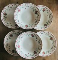 """Set of 6 ROMANCE Soup Bowls By Tabletops Unlimited 8-3/4"""""""