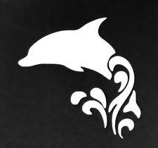 Dolphin (splash) Vinyl Decal