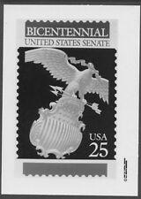 #2413 25c United State Senate Stamp Publicity Photo Essay