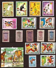 PR 116 ALTO VOLTA 1 colección+sellos ex 1926 y el deporte nuevo y matasellados