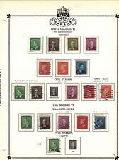 Canada Scott 284 - Onwards. King George V1 Mixed Condition. #02 Can284
