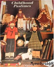 Childhood Pastimes - Sue Ann Thomason ~ Decorative Tole Painting Book