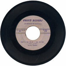 """JERRY THOMAS  """"THAT'S THE PRICE I HAD TO PAY c/w WE WON'T BE SORRY""""  R&B"""