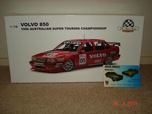 1:18 Biante Peter Brock Volvo 850 #05 1996 Australian Super Touring Car