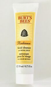 💋 RADIANCE FACIAL CLEANSER BY BURT'S BEES TRAVEL CLEANER 0.75OZ