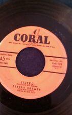 """Teresa Brewer Jilted/Le Grand Tour de L'Amour 45 rpm 7"""" record"""