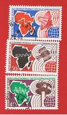 Chad #237-239 VF used  Telecommunications  Free S/H