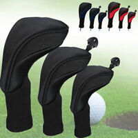 3 Headcover-Set Golf Schlägerhaube Driverkopfhüllen Schlägerschutz  für No.1 3 5