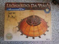 Leonardo Da Vinci Armored Car Model Kit - NEW