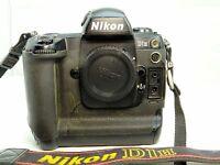 Nikon D1H 2MP Digital SLR Camera - Black (Body Only) - - - - - - -  Works good