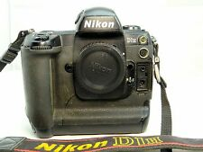 Nikon D1H 2MP Digital SLR Camera - Black (Body Only) - - - - - - -  Works good