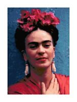 Frida Kahlo Handmade DIGITAL Counted Cross-Stitch Pattern Needlepoint