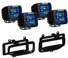 Rigid Radiance LED Fog Light w/ Blue Backlight for 10-17 Dodge Ram 2500 3500