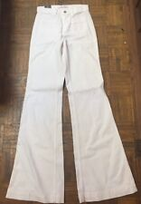 J Brand Bette White High Rise Wide Leg Denim Pants Jeans Size 26  $248