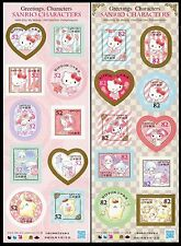 Giappone 2016 Hello Kitty My Melody LITTLE TWIN STARS SANRIO CHARACTERS MNH