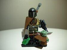 STAR WARS The Mandalorian, Child BABY YODA Minifigure, + Lego Frog FREE SHIPPING