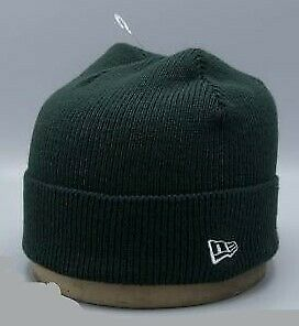 New Era Beanie. New with tags, Forest Green or Navy, cuffed, knit hat